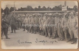 WW1  SCHNEIDEMUHLE Concentration Camp 1916 Verdun French Troops Arrive T1w82 - Weltkrieg 1914-18