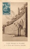 Monument à La Gloire De L'Infanterie Française, Oblitération De La Journée Nationale De L'Infanterie. - Monuments Aux Morts