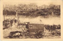 La Bataille De L'Yser Par A. Bastien. Le Cheval Et L'ambulance. - Guerre 1914-18