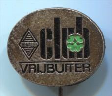 RENAULT - CLUB VRIJBUITER, Car, Auto, Old Pin, Badge - Renault