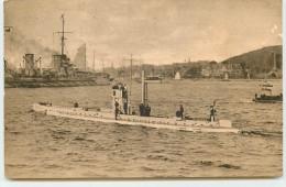 Série II N°10 - Sous-Marin U-8 Dans La Manche - Guerra 1914-18