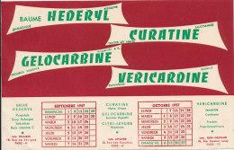 BU 1125 / BUVARD   CURATINE GELOCARBINE CITRI--LEVURE - Produits Pharmaceutiques