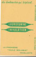 BU 1148 / BUVARD  -  LAUROFUMINE  INHALATION - Chemist's