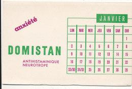 BU 1159 / BUVARD  - DOMISTAN - Produits Pharmaceutiques