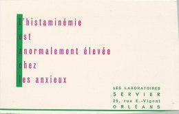 BU 1203 / BUVARD  L'HISTAMINEMIE - Produits Pharmaceutiques