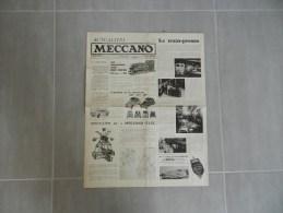 """Revue  """" Meccano  """" Juillet 1962  """" - Sin Clasificación"""