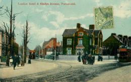Royaume-Uni - Angleterre - Hampshire - London Road & Gladys Avenue , Portsmouth - Chemins De Fer - Tramways - Tramway - Portsmouth