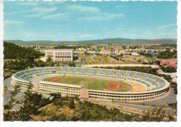 REF 193 : CPSM Stade Stadium Terrain De Football Rome Roma Stadio Olimpico - Cartes Postales