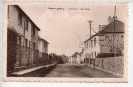 REF 189  : CPA Belgique Couillet Queue Rue Terre De Bois - Belgique