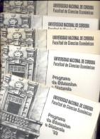 ESTADISTICA APLICADA A LA INVESTIGACION CURSO DE POSGRADO UNIVERSIDAD NACIONAL DE CORDOBA FACULTAD DE CIENCIAS ECONOMICA - Economie & Business