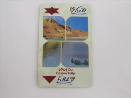 Israel Golden Tulip Fattal Hotel,with Bend - Cartes D'hotel
