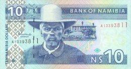 Namibia 10 Dollars 2001 Pick 4 UNC - Namibia