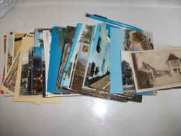 Lots:+ De 90 Cp  France Et Etrangers (pas Le Temps De Trier) - Cartes Postales