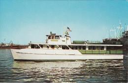 Postcard Sightseeing Launch MV Sam Houston Port Flagship Texas USA - Schiffe