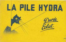 BU 1238/ BUVARD -  LA PILE HYDRA - Piles