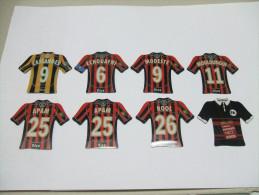 8 MAGNETS Football NICE Just FOOT 2008 Et 2009 - Sport