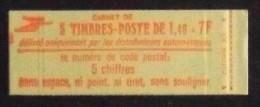 FRANCE CARNET De 5 Timbres 2102 Neufs** N° 2102-C1 -T B E - Carnets
