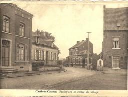 CAMBRON  CASTEAU     PRESBYTERE  ET   CENTRE  DU  VILLAGE - Non Classés