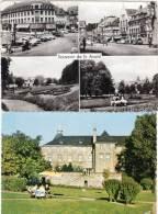 2 CPSM - SAINT AVOLD - LONGEVILLE LES ST AVOLD  -  Maison De Repos   (70312) - Saint-Avold
