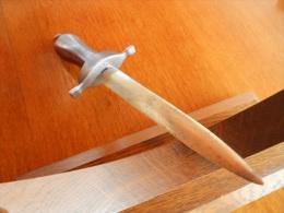 Magnifique Couteau Dague De Collection - Armes Blanches