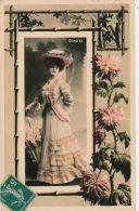 FEMMES - FRAU - LADY - SPECTACLE - ARTISTES - Jolie Carte Fantaisie Portrait De DORGÈRE - Femmes