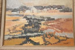 -  Eliane  THIOLLIER -  8P- 46x33 cm   Hors cadre.  Paysage de  Camargue