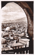 Syrie - Damas Damascus - General View - UAR Stamp And Postmarked