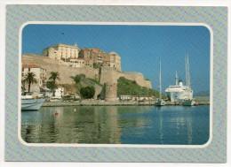 20 - Corse - Calvi - Le Port Et La Citadelle - Calvi