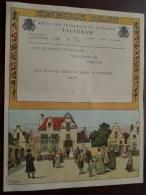 TELEGRAM Voor Vaninghelgem Provinciestraat Antwerpen Verzonden 1960 Opening Service Station !! - Faire-part