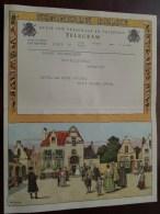 TELEGRAM Voor Garage Vaningelghem Provinciestraat Antwerpen Verzonden 1960 Opening Service Station !! - Faire-part