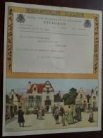 TELEGRAM Voor Vaningelghem Provinciestraat Antwerpen Verzonden 1960 Opening Service Station !! - Faire-part