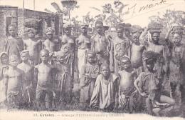 CPA Animée  AFRIQUE NOIRE Guinée Conakry  Groupe D' Enfants Etnie Ethnic Ethnologie - Guinea