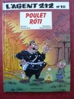 Agent 212, Tome 18 : Poulet Rôti  EO 1996  TBE - Agent 212, L'
