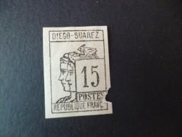 TP Colonies Françaises Neuf Charnières Diego Suarez; TP N° 8. Valeur 240€ Second Choix - Unused Stamps