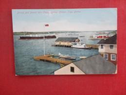 Canada > Nova Scotia> Cape Breton  British & FrenchWar Ships  Sydney Harbor  -ref 1428 - Cape Breton