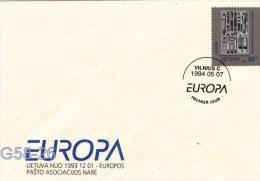 Lithuania FDC: 1994 Europa CEPT     (G58-26) - 1994