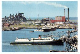 REF 188  : CPSM 59 DUNKERQUE Un Aspect Du Port - Dunkerque