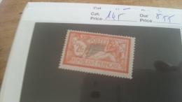 LOT 215735 TIMBRE DE FRANCE NEUF* N�145 VALEUR 55 EUROS