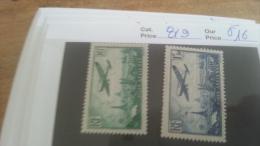 LOT 215770 TIMBRE DE FRANCE NEUF* N�8/9 VALEUR 16 EUROS