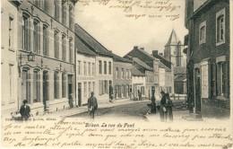 Bilzen - La Rue Du Pont - 1905 ( Verso Zien ) - Bilzen