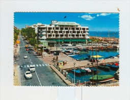 RICCIONE,Savioli Spiaggia,Darsena-1966-Auto-CAR-ALFA-BENZINA TOTAL-SHELL-!!!!!!!!! - Rimini