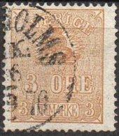 SUEDE - 3 ö. De 1862-66 Oblitéré TB - Suède
