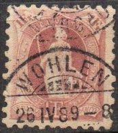 SUISSE - 1 F. Helvetia Debout Dentelé 9.5 Oblitéré - 1882-1906 Wappen, Stehende Helvetia & UPU