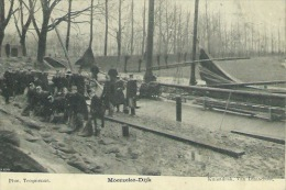 Moerzeke -Dijk -boot, Soldaten -1907  ( Verso Zien ) - Hamme