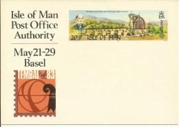 MAN 1983  Postcard Tembal Basel   Europe - Isle Of Man
