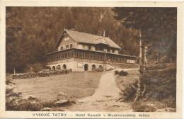 Slovakia Vysoke Tatry Hotel Kamzik V Studenovodskej Doline - Slovakia