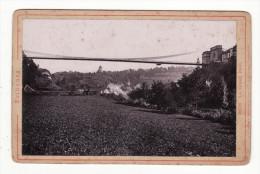 Suisse  FR   FRIBOURG   Le Grand Pont     Photo Ancienne - FR Fribourg