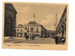 M1943 CALABRIA Reggio Calabria Corso Garibaldi Non Viaggiata - 2918 Ediz. G. Ielitro - Reggio Calabria - Reggio Calabria