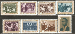 Rwanda 1972 Mi# 513-520 A ** MNH - 10th anniversary of independence