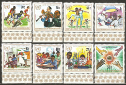 Rwanda 1972 Mi# 529-536 A ** MNH - Fight against racism